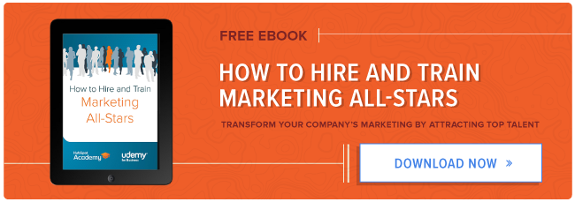 یاد بگیرند که چگونه به استخدام یک تیم بازاریابی همه ستاره