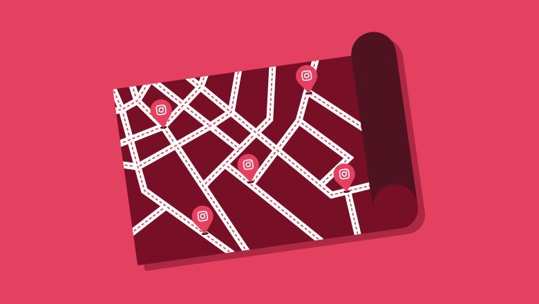 نحوه استفاده از اینستاگرام برچسب مکان برای تعامل با دنبال محلی