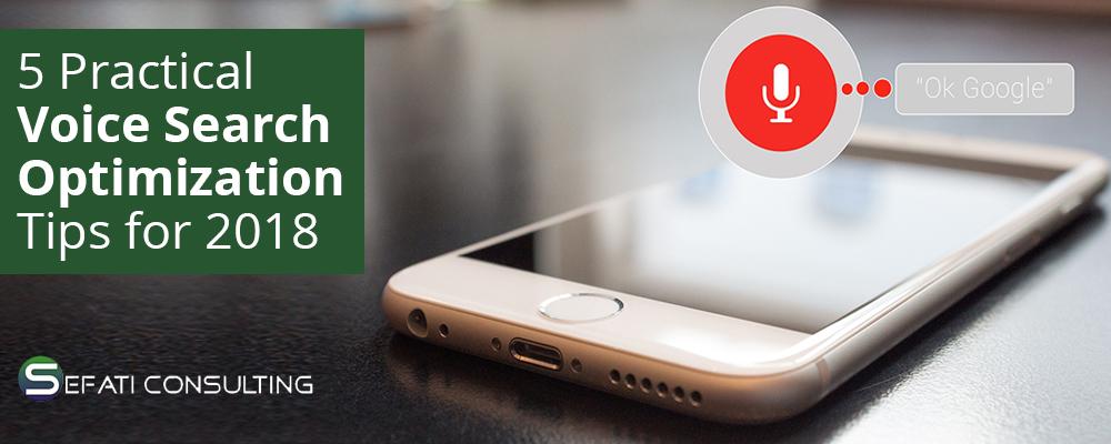 5 نکته عملی برای بهینه سازی جستجوی صدا