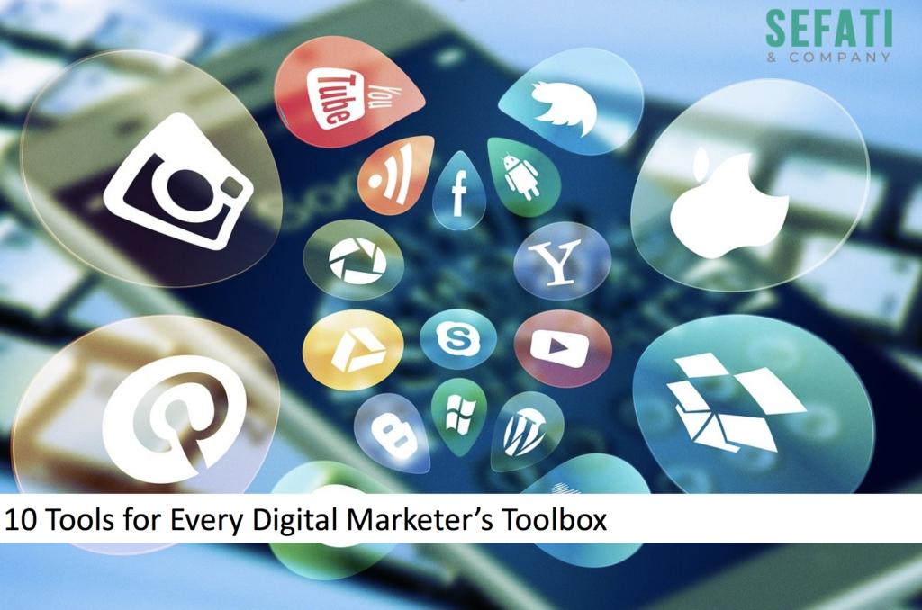 10 ابزار برای هر بازاریاب دیجیتال